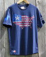 "MENS T-SHIRT ""USA"" navy"