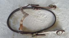 V-shaped Cow headstall
