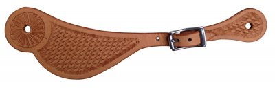 First grade Sadesa leather spurstrap