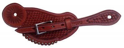 Wickett & Craig leather spurstrap